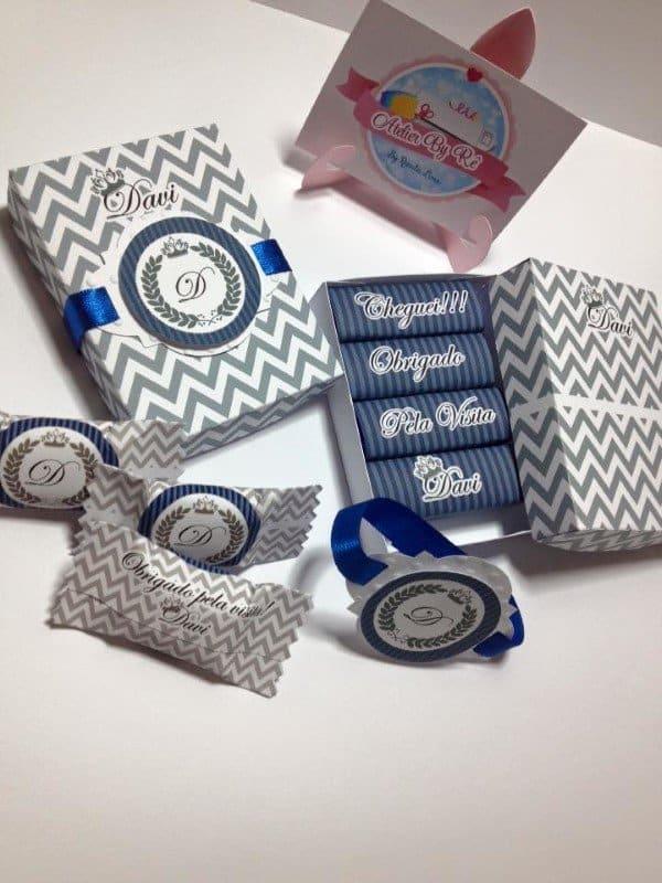 kit personalizado com chocolate bis