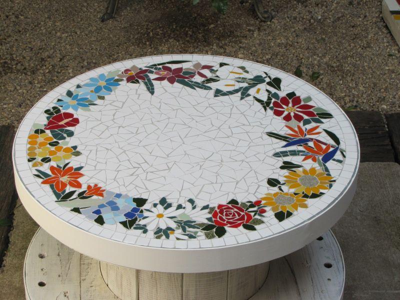Artesanato feito com bobina de fio artesanato passo a passo - Reciclar marmol ...