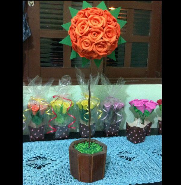 Dicas de Artesanato com Apliques de Flores