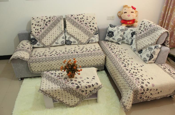 11 ideias de artesanato para forro de sof artesanato - Como hacer fundas de sofa paso a paso ...