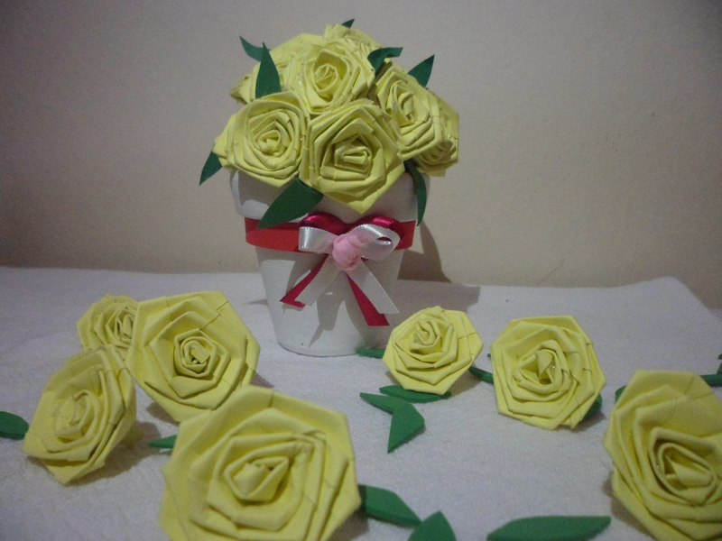Dicas de Artesanato para Vaso de Flores