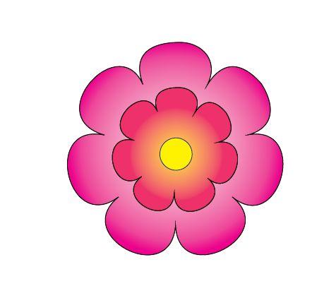 Dicas Moldes de Flores Grátis para Imprimir