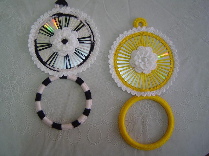 Dicas de Artesanato com Crochê e CD