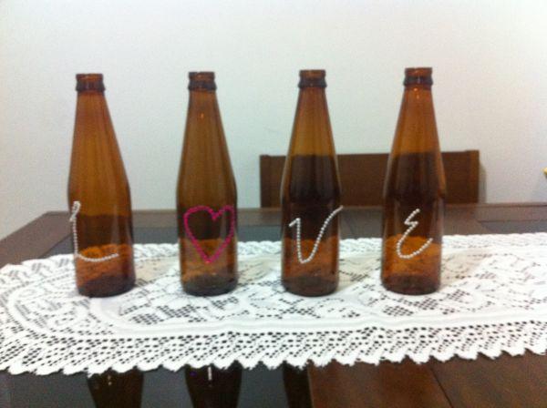 Dicas de Artesanato com Garrafas de Cerveja
