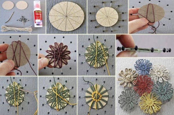 Dicas de Artesanato com Linha de Crochê
