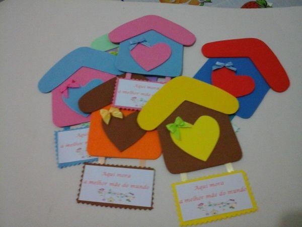 Dicas de Artesanato para Mães em EVA