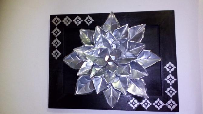 Dicas de Artesanatos Feitos com Papel-Alumínio