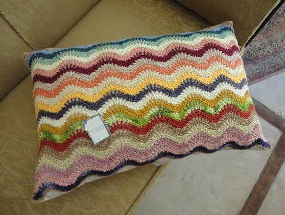 Dicas de Almofadas Coloridas de Crochê