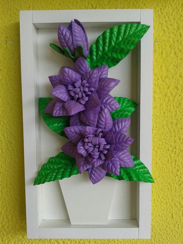 Artesanato em EVA para Dia das Mães