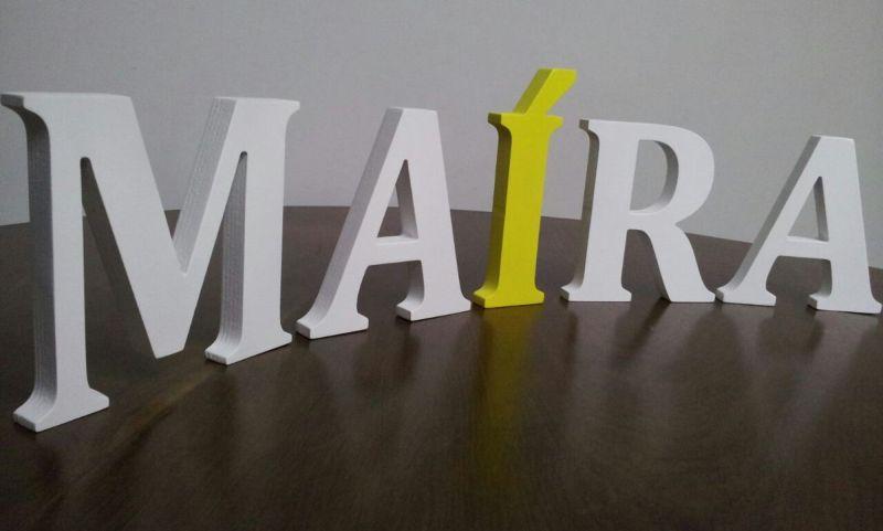 Dicas de Artesanatos Feitos em Letras de MDF