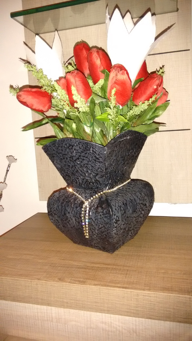 Dicas de Vasos com Caixa de Leite
