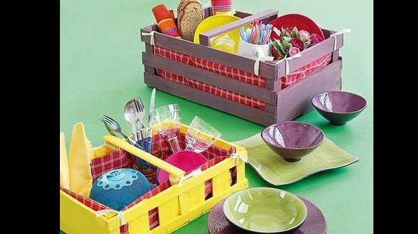 Dicas de Artesanato com Caixote de Frutas