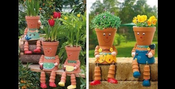 Dicas de Artesanato para Colocar Plantas