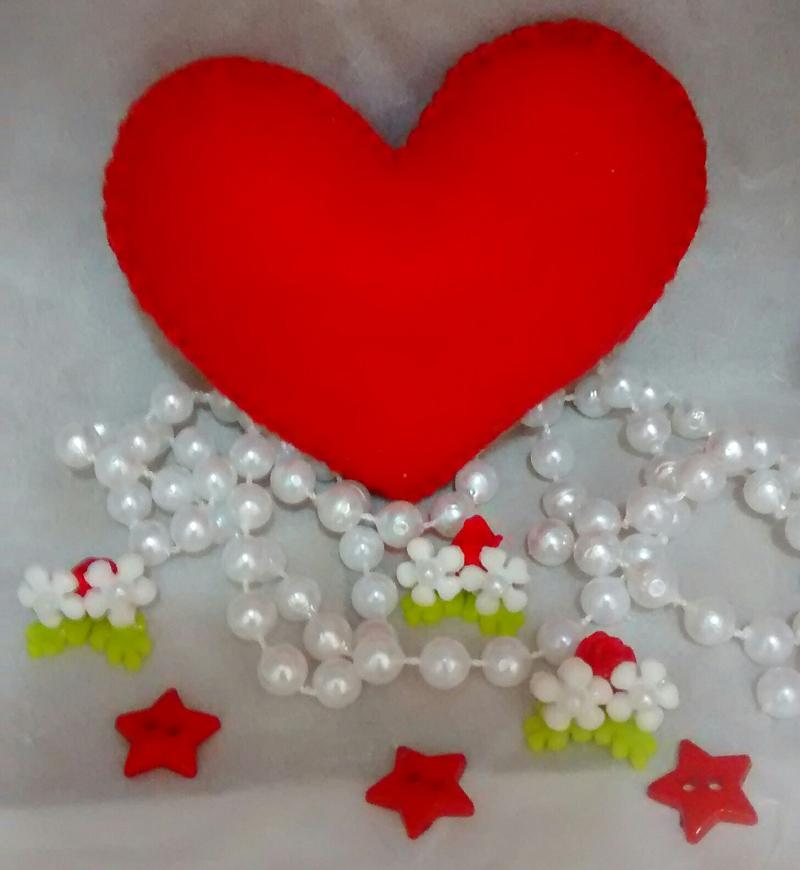 Dicas de Artesanato para Dia dos Namorados em Feltro