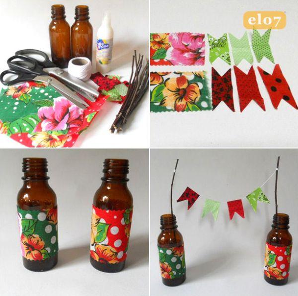 Aparador Walmart ~ 26 Ideias Criativas de Artesanato para Festa Junina