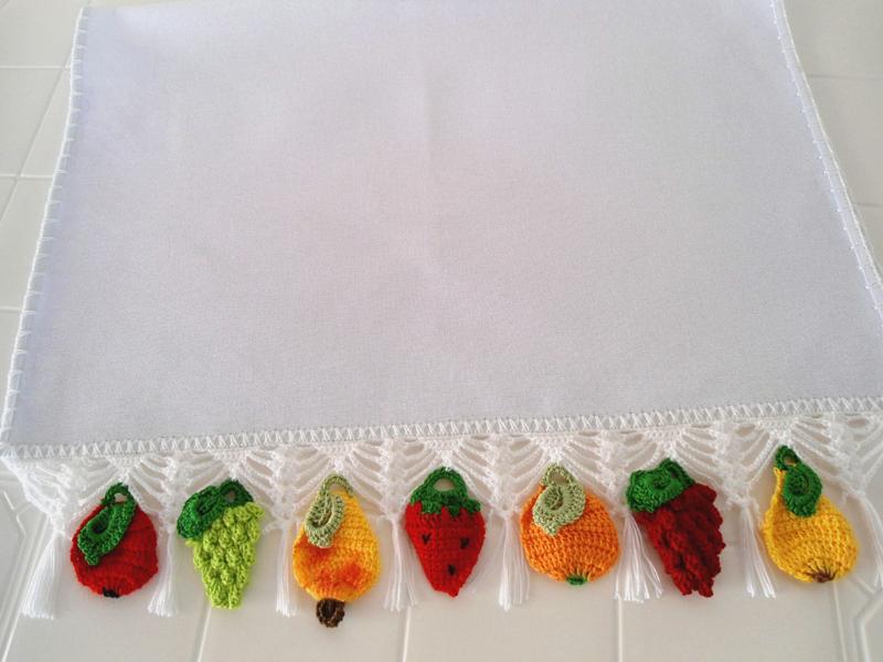 Dicas de Artesanatos para Cozinha Feitos de Crochê