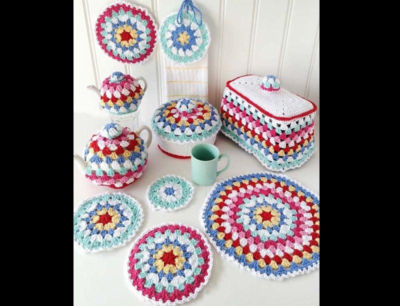 Artesanatos para Cozinha de Crochê