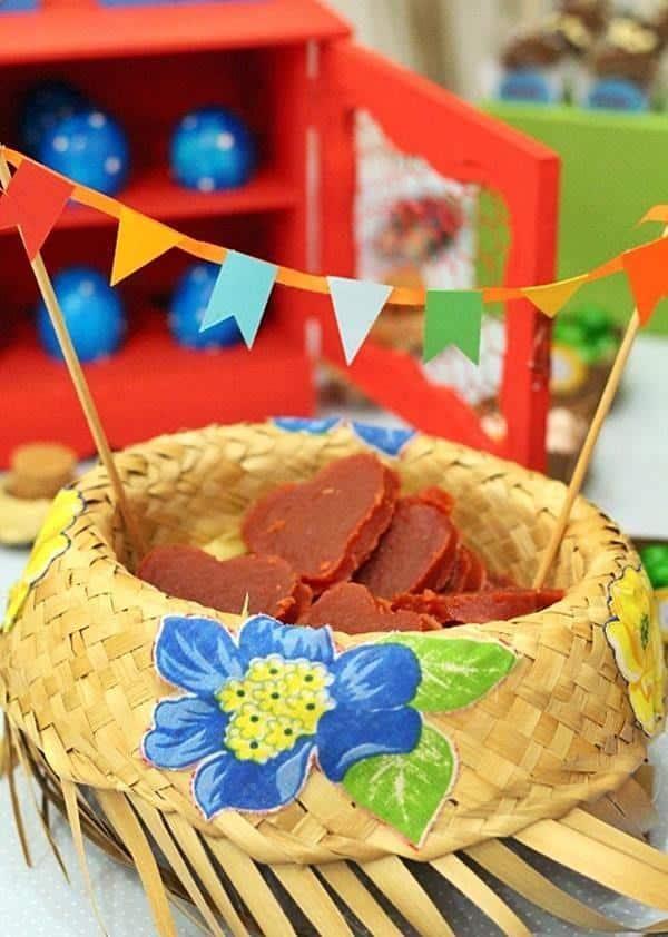 chapeu decorado festa junina