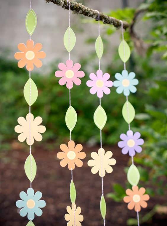 flor de papel cartolina