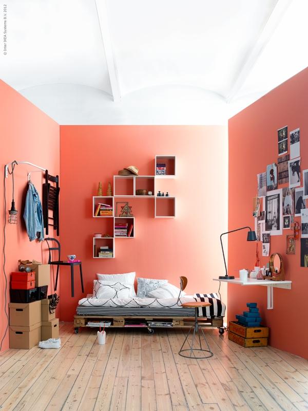 Decoração artesanal para quarto feminino