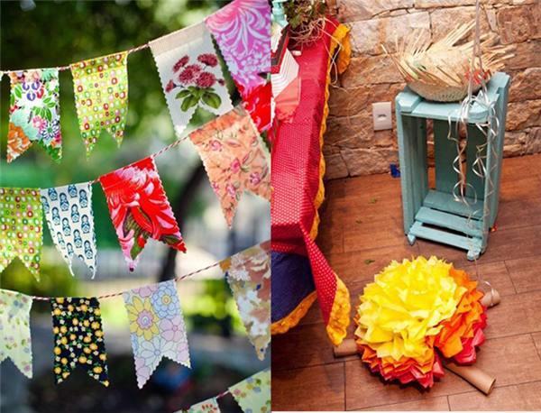 festa junina decoração