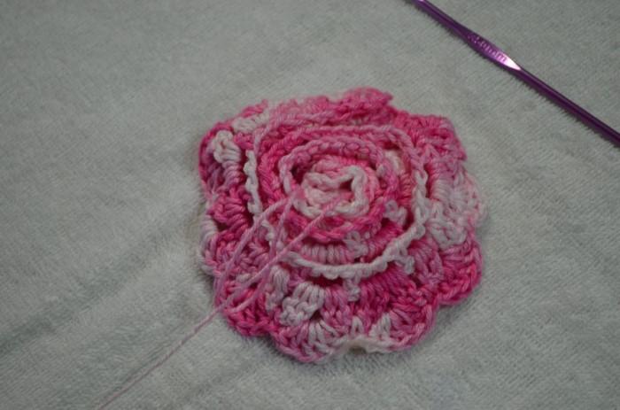 flor de croche como fazer