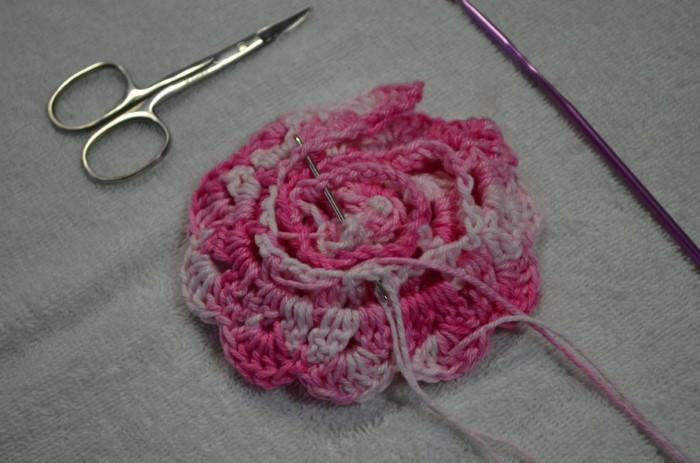 Florzinha de crochê fácil