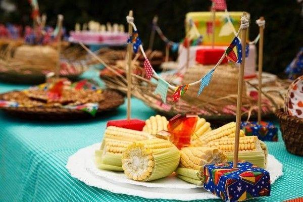 ideia decoração festa junina