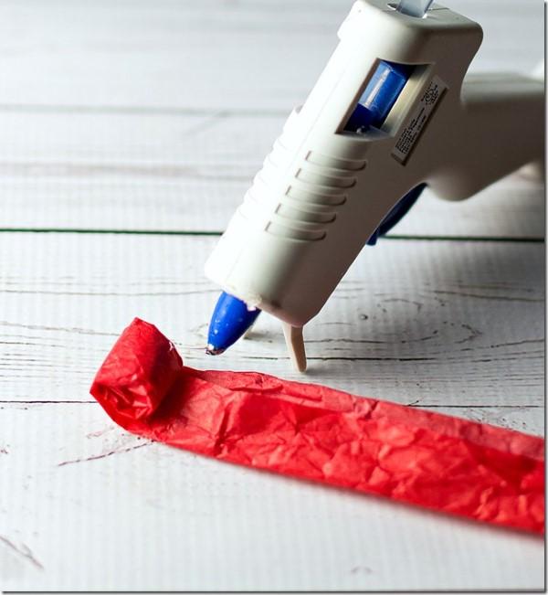 coração de papel para decoração