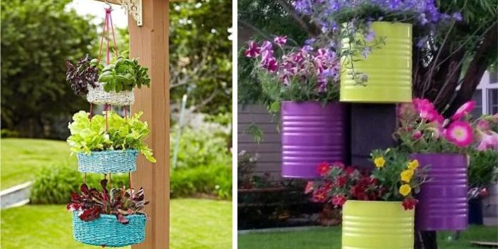 sugestões para vasos de plantas