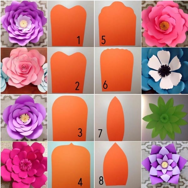 flores para artesanato