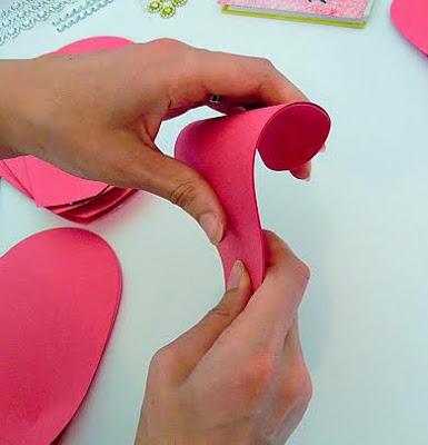 flores de papel como fazer