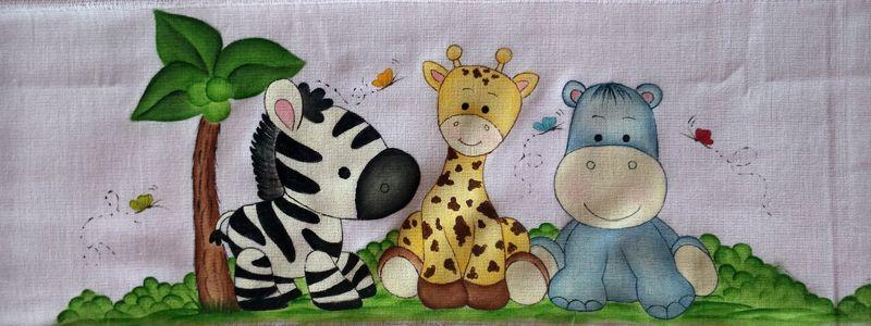Pintura Em Fraldas De Bebe 50 Ideias Incriveis Artesanato Passo