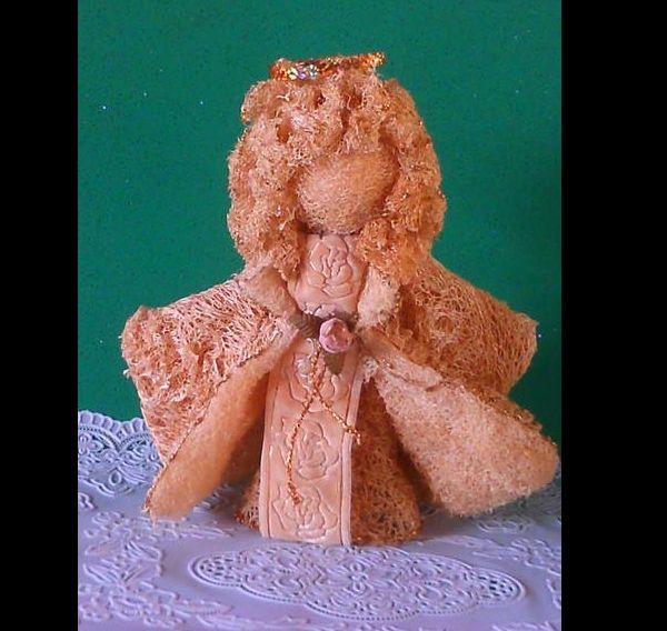boneca de bucha vegetal