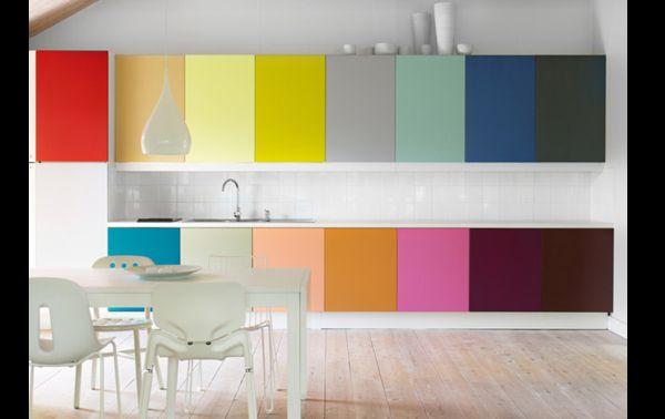 armário de cozinha com papel contact