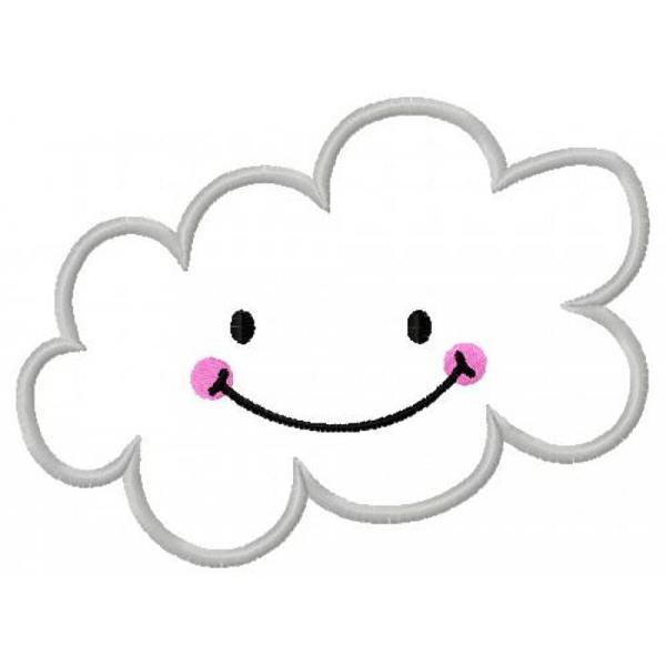 nuvem feliz