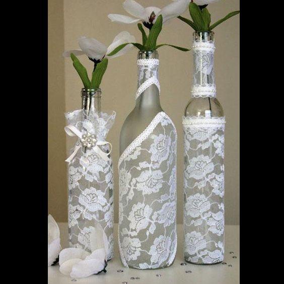 garrafa decorada para festa