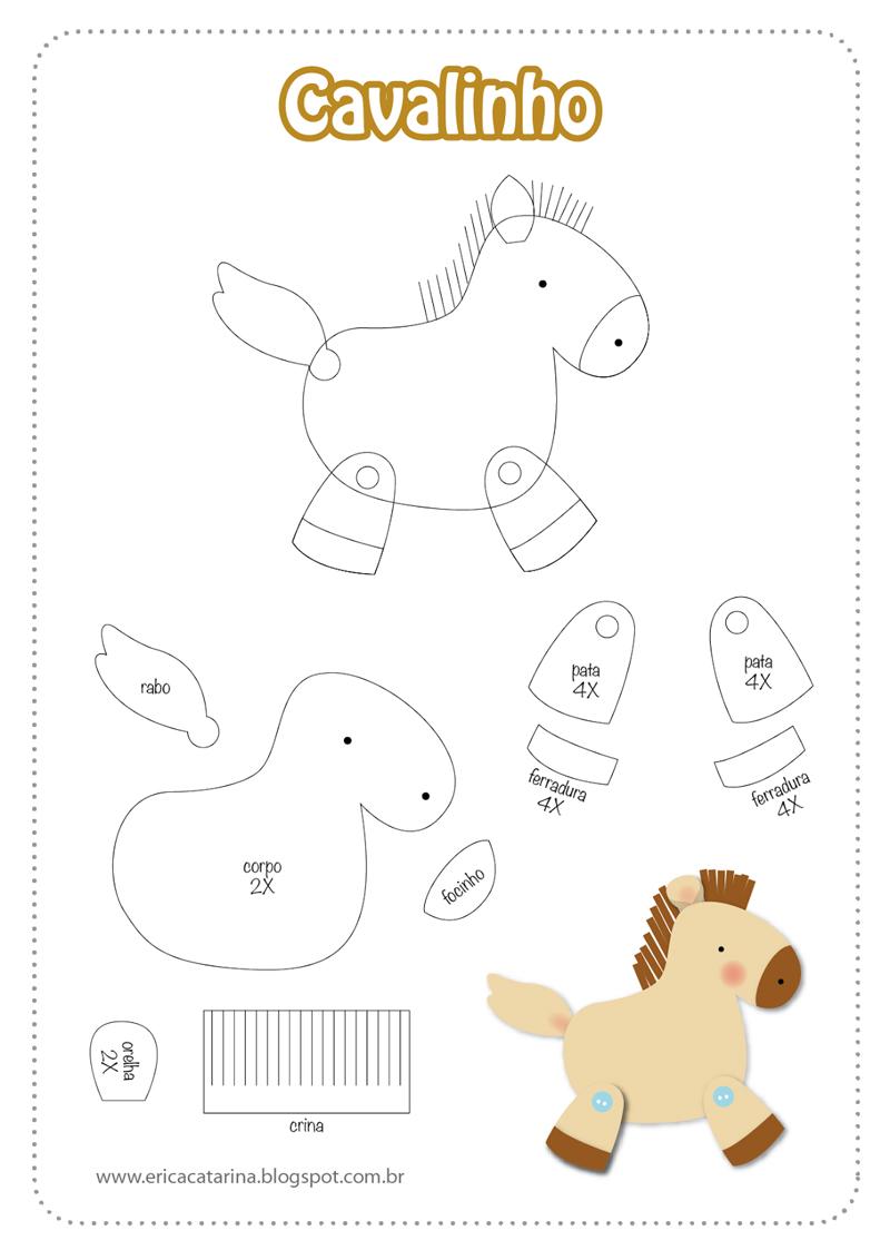 molde de cavalo