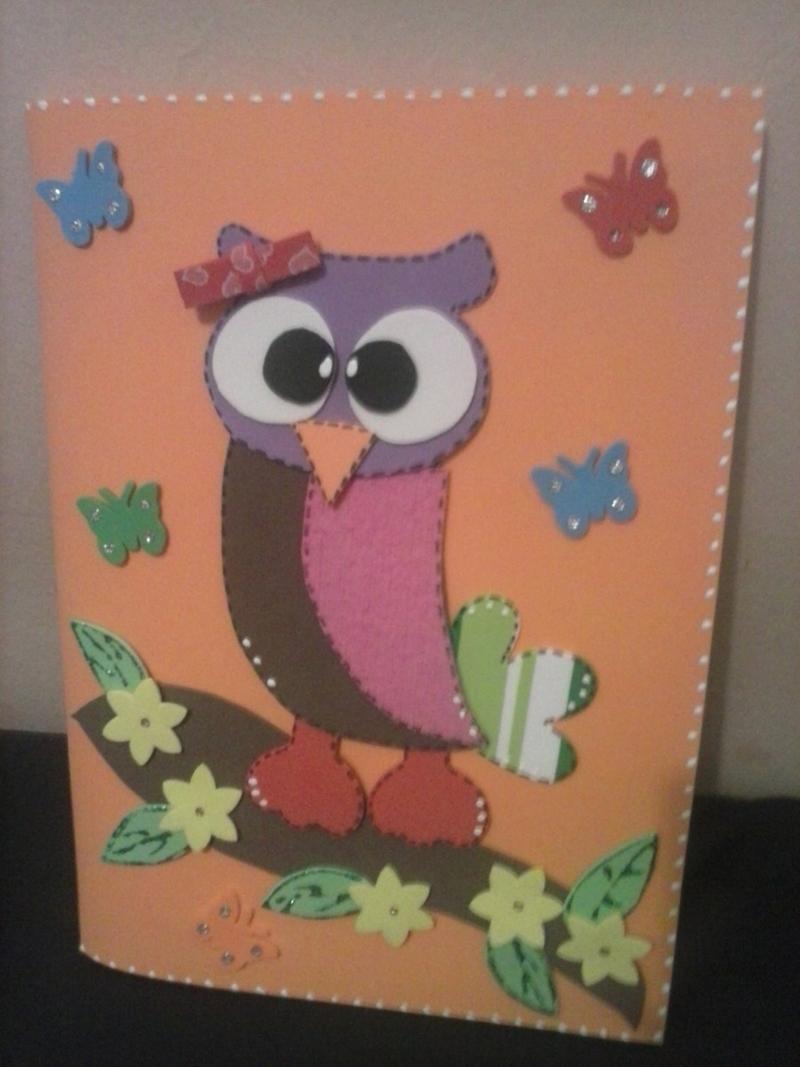 caderno com eva de coruja