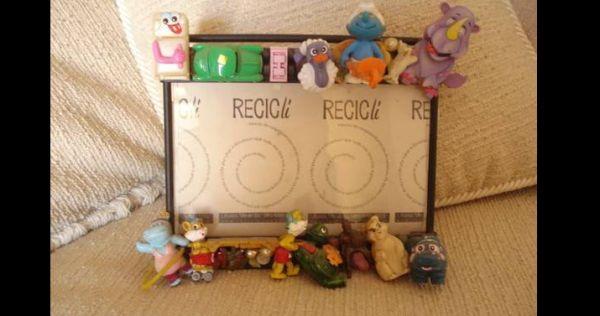 porta retrato de brinquedos