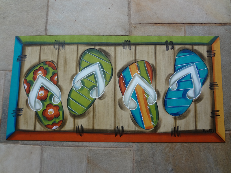 Dicas de Artesanato para Carpete de Entrada