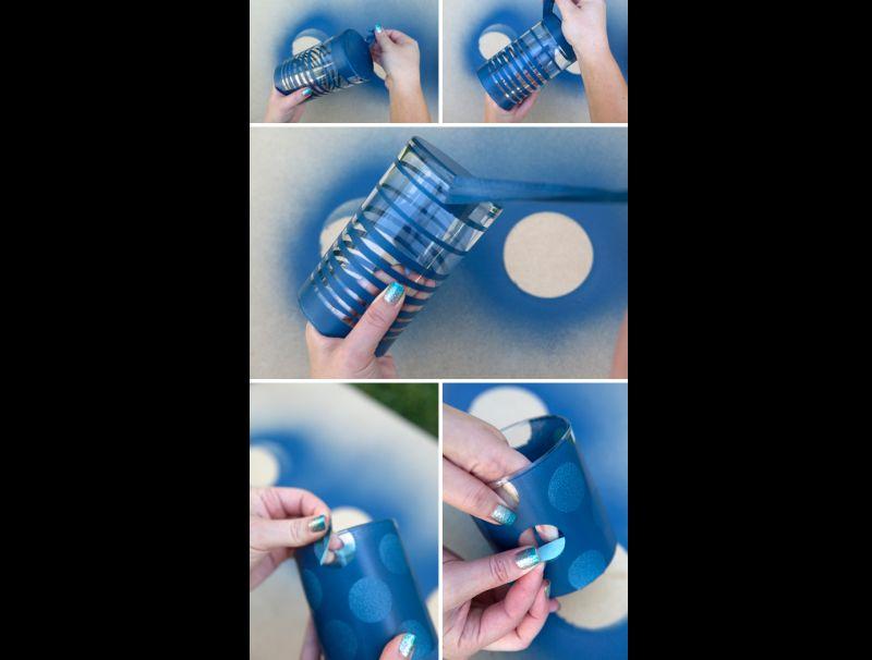 Dicas de Como Pintar Vidro com Tinta Spray