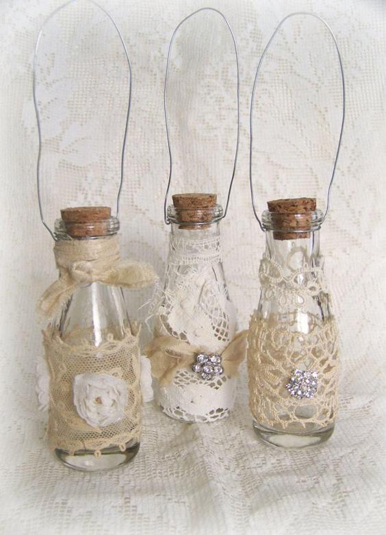 garrafa decorada com strass
