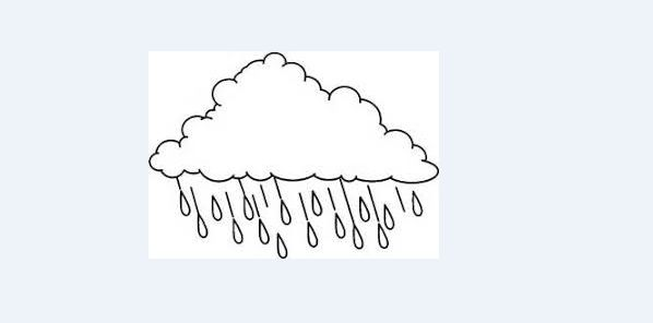 mobile nuvem feltro molde