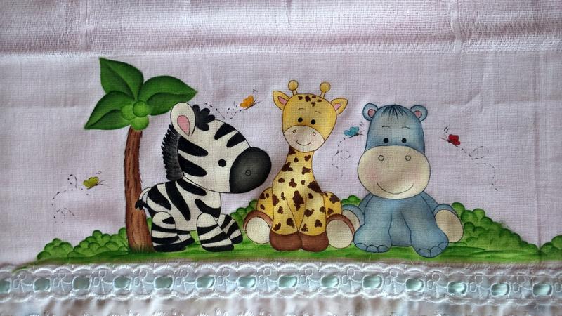 fralda pintada safari