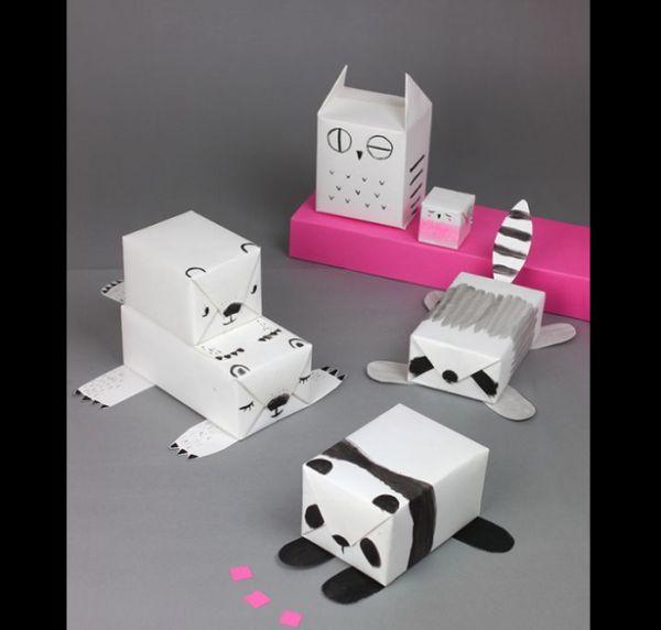 ursinhos de caixa de leite