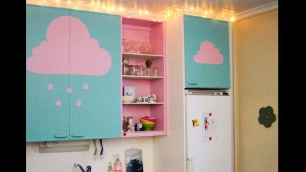 customização de armário de cozinha