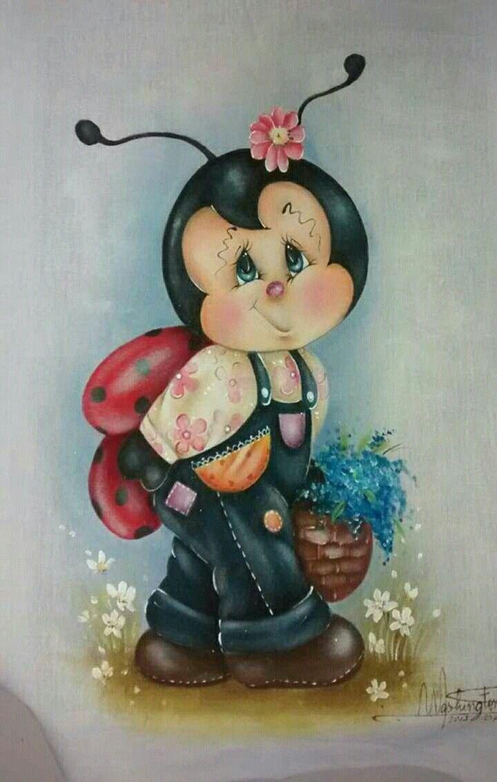Fraldinha pintada de abelhinha