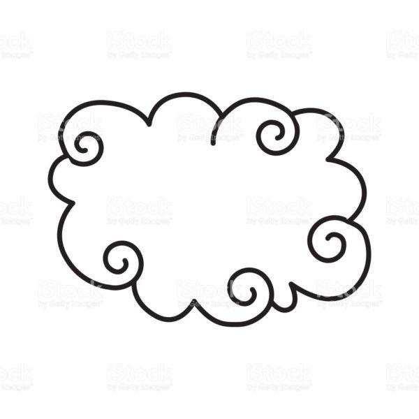 nuvem estilizada