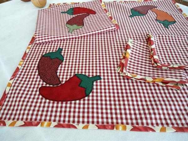 toalha de mesa de cozinha